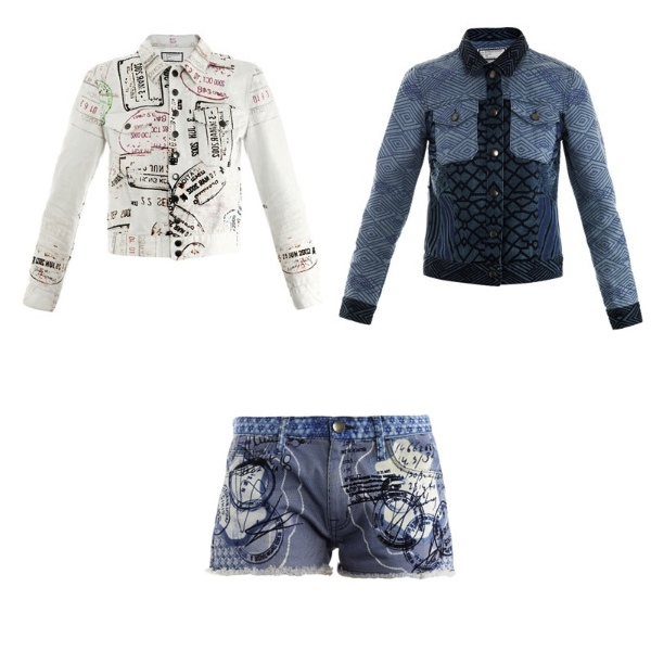 Mary Katrantzou Current:Elliot jacket shorts