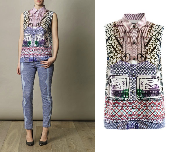 Mary Katrantzou Current:Elliot shirt