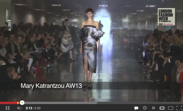 Mary Katrantzou video