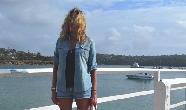 Sydney-Denim shorts and denim shirt-0014
