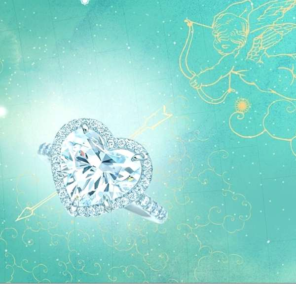 Tiffany heart diamond