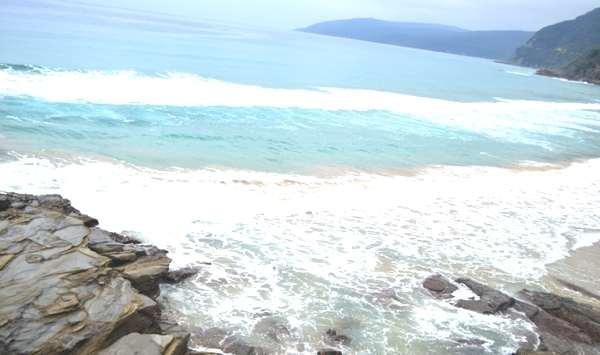 Travel Australia- sea beach