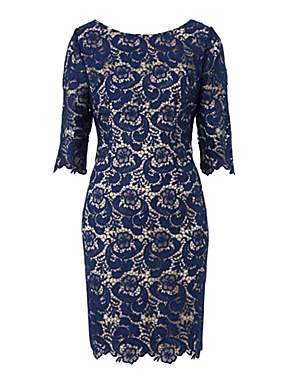 UNTOLD Lace Dress With Sleeves