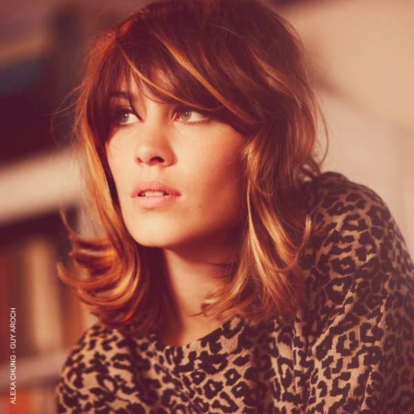 Alexa Chung Vogue Animal print top