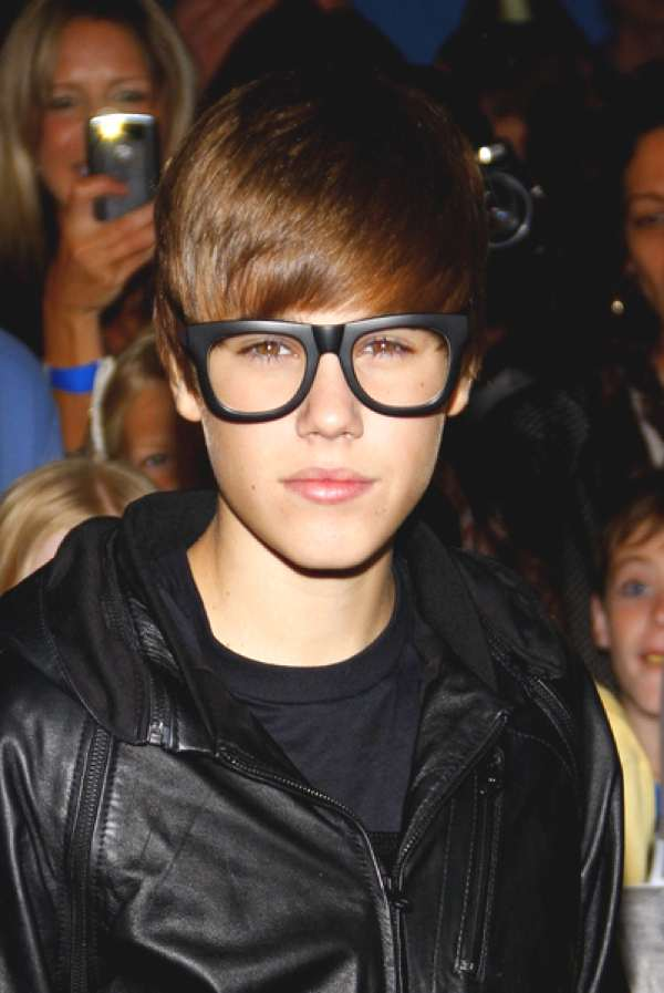 Bieber geek glasses