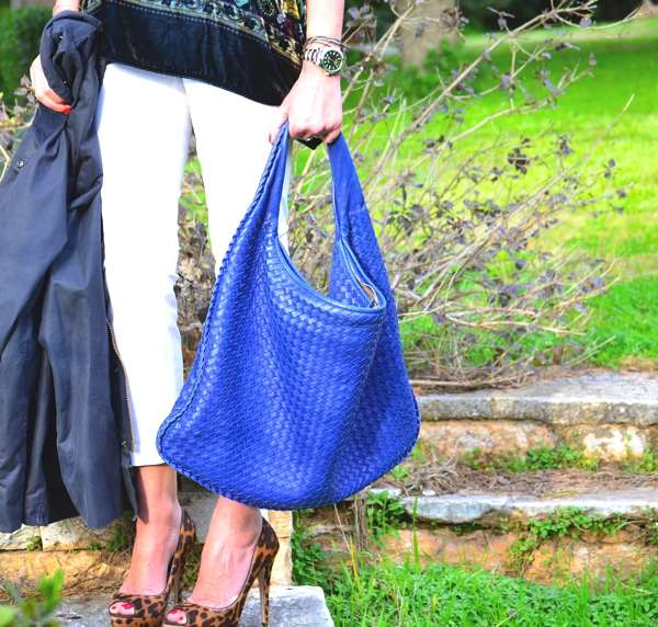 Bottega Veneta bag blue