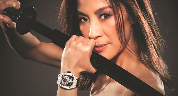 Celebs Go Crazy for Richard Mille Watches-Michelle Yeoh -RM 051  Limited edition-diamonds