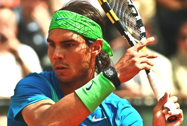 Celebs Go Crazy for Richard Mille Watches -Nadal-playing-RM027
