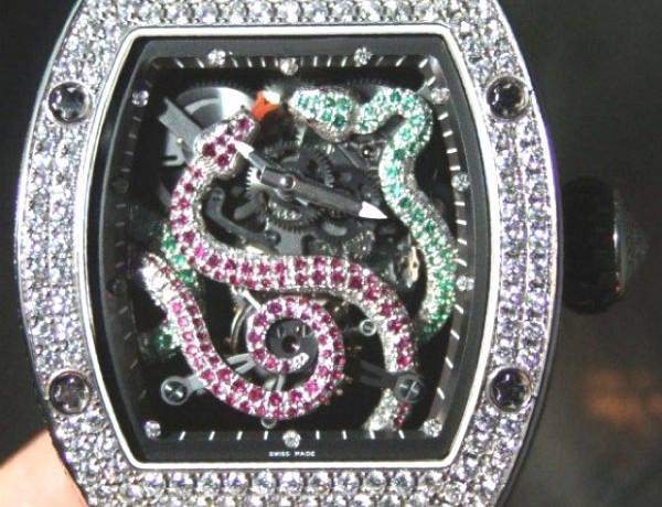 Celebs Go crazy for Richard Mille WatchesRichard Mille RM 026