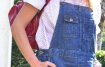 PS Street Style- Denim Dungaree and Louboutins