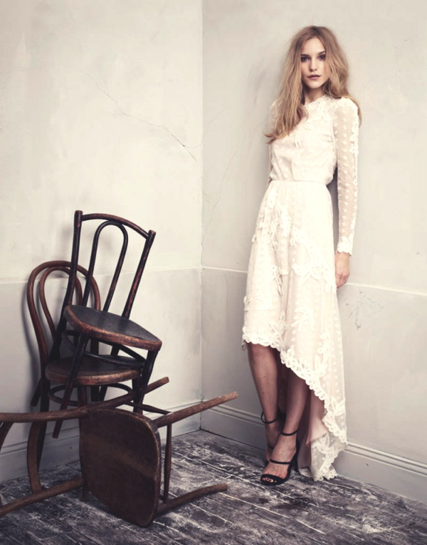 Dorothea Barth Jorgensen for H&M Conscious Exclusive Collection 2013 dress lace