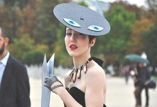 Evil Eyes Hat