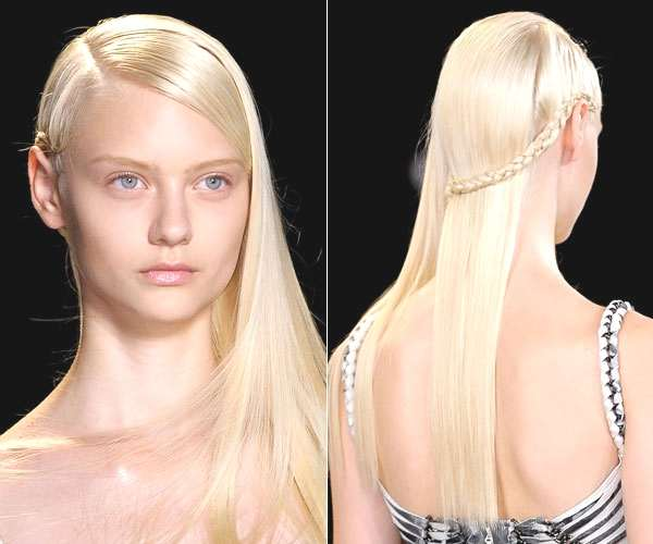Herve Leger- single braid