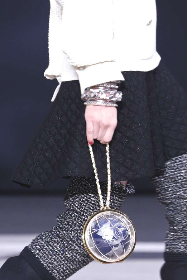 Inspiration- Chanel You Know How Fall 2013 globe bag