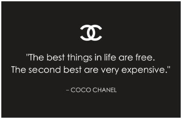 Inspiration- Chanel You Know How quote