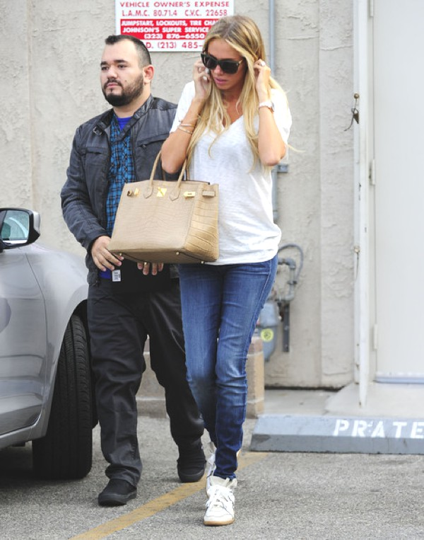Petra Ecclestone wearing Betty Isabel Marant sneakers