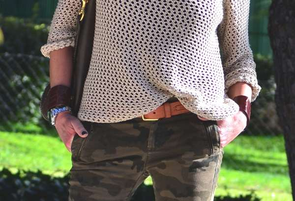 Spring Street Style- Military Chic 1