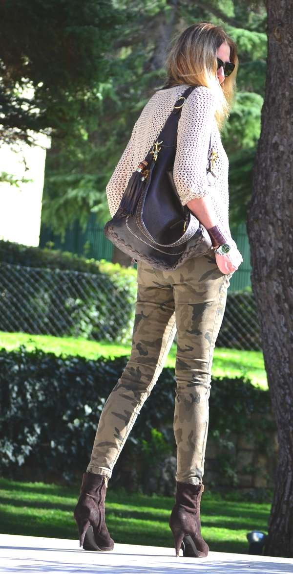 Spring Street Style- Military Chic 2