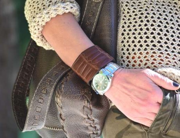 Spring Street Style- Military Chic Rolex