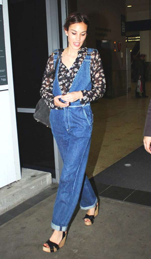 Trend Posting- Dungarees, Overalls... All Over Alexa Chung