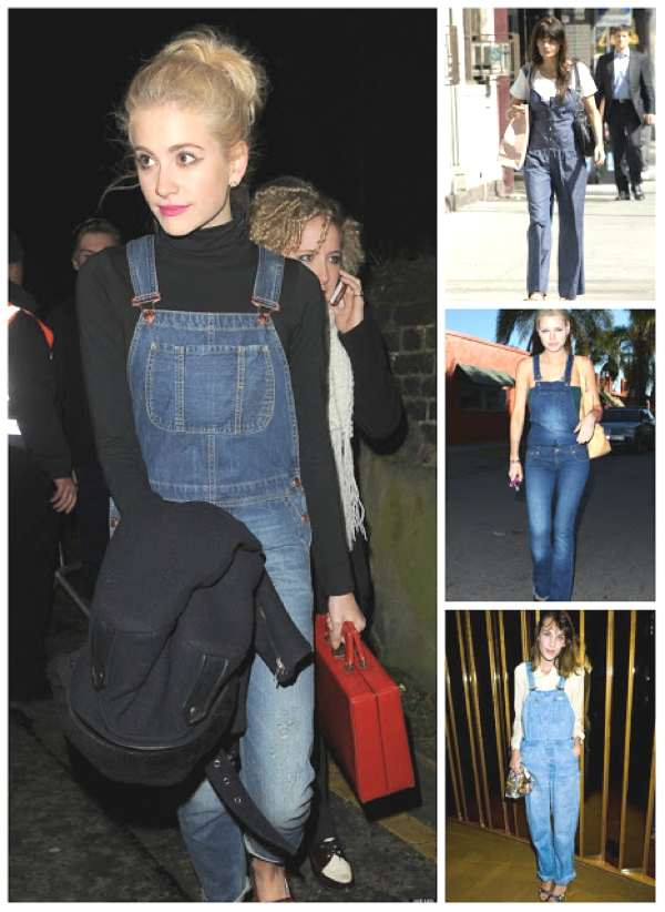 Trend Posting- Dungarees, Overalls... All Over collage
