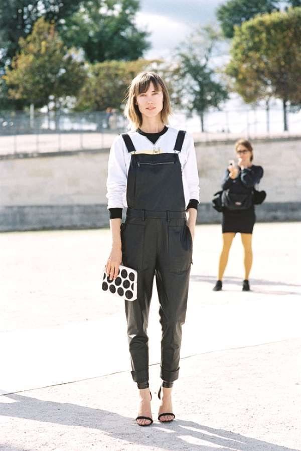 Trend Posting- Dungarees, Overalls... All Over leather