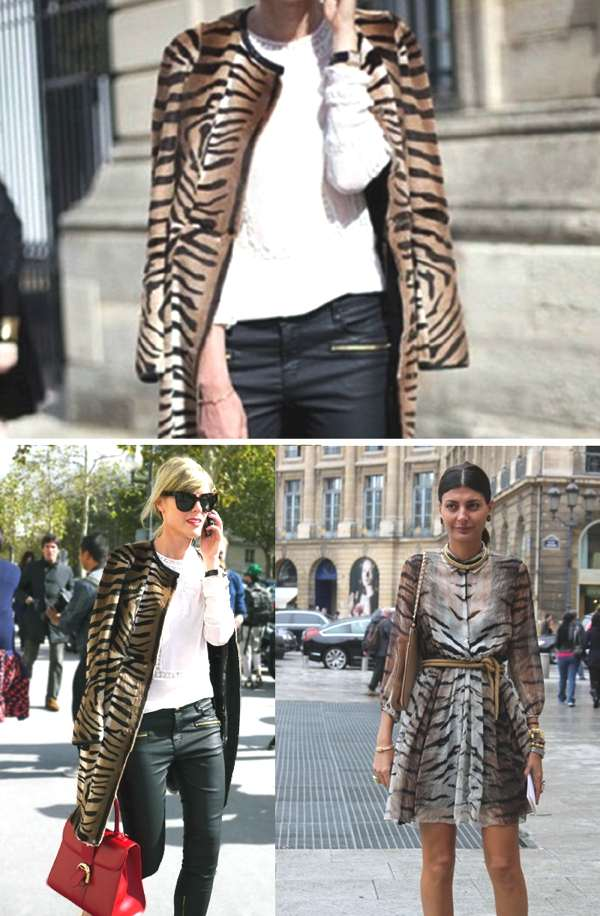 animal prints street style
