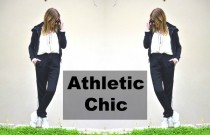 Street Style- Athletic Chic Black and White