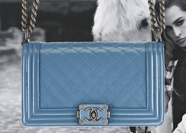 Chanel Boy Blue