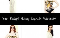 Your Budget Holiday Capsule Wardrobe