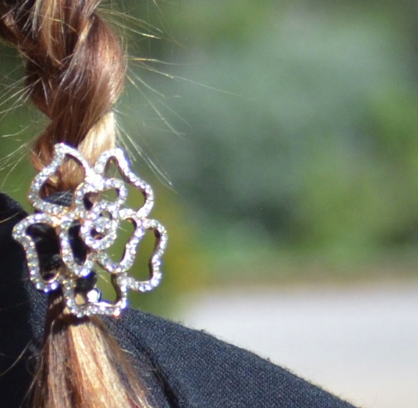 Diamond hair accessory