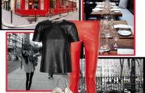 Icelle's Styling Ideas- Double Leather