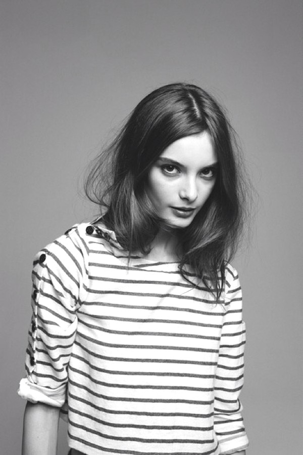 Inspiration- black and white stripes