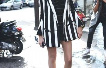 Fashion Inspiration- The Glorious Black and White Stripes