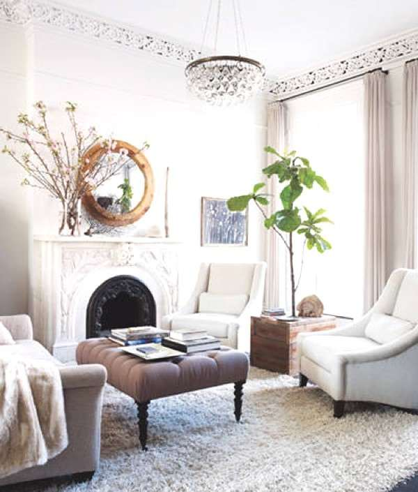 Interior Decoration Refresh- The Small Changes- Keri-Russell-Brooklyn-home-living-room-Elle-Decor