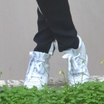 Isabel Marant Baya leather off white sneakers