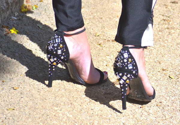 Karen Millen strappy sandals