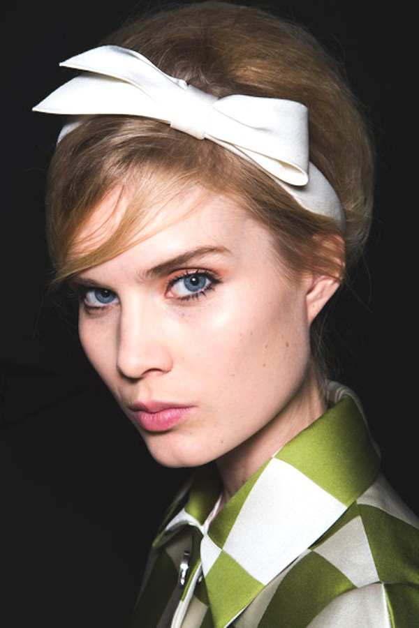 Louis Vuitton bow headband