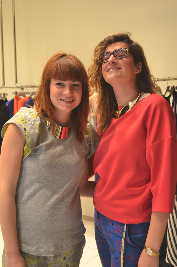 Laura Loukeri and Paola GuareschiPinko and Greek designers-0002