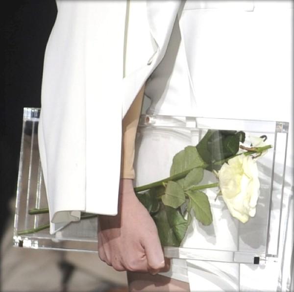 Maison Martin Margiela Spring 2011 Details- Clear clutch