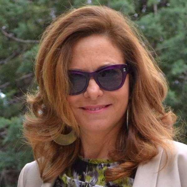 Mauve sunglasses-Alexandra Skaltsogianni