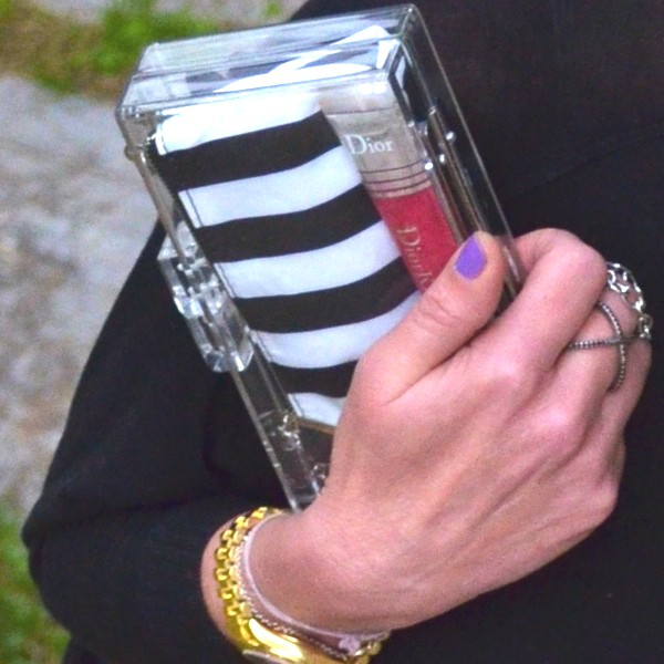 PERSONAL STYLE- YES I GOT THE CLEAR CLUTCH!-0000