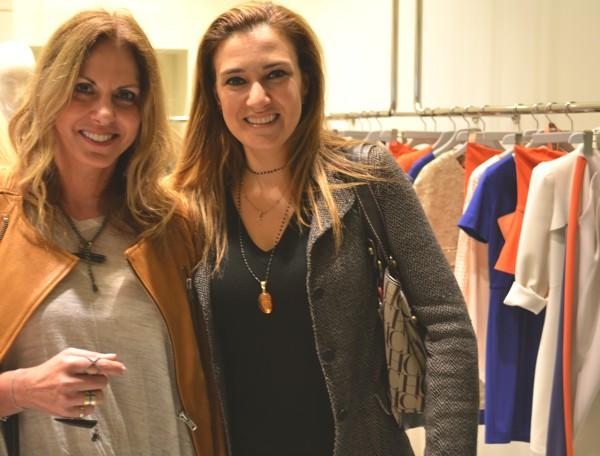 Pinko and Greek designers Nina Papaioannou Roula Linatsa