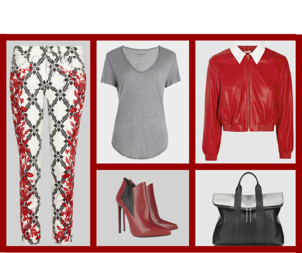 Styling Ideas- Are you thinking red?  Icelle