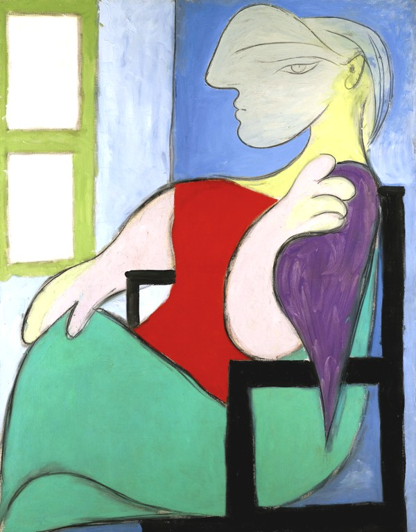 Woman Sitting Picasso Near a Window