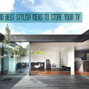 10 Best Stylish Ideas To Store your TV