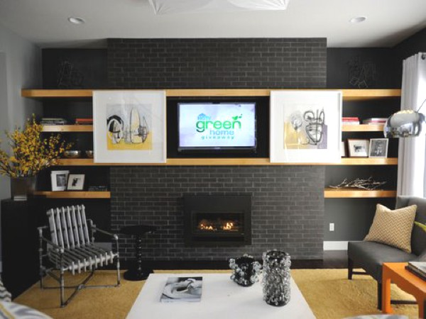 10 Best Stylish Ideas To Store your TV 1