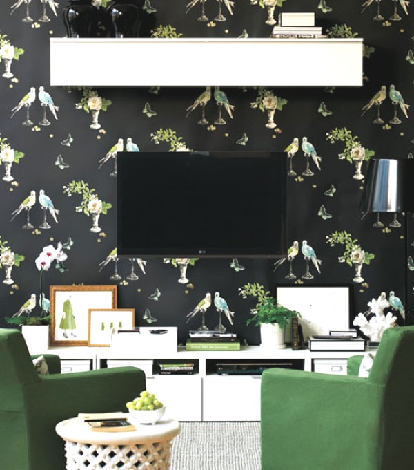 10 Best Stylish Ideas To Store your TV wall paper