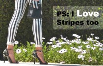PS (Personal Style)- Yes, I Love Black and White Stripes too