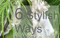 6 Stylish Ways to Wear a Long Scarf